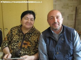 Con Farida Bolkunova in TURKMENISTAN